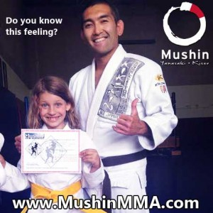 We are not a Mc Dojo who sells belts.  Students EARN their ranks and it shows in the feeling of accomplishment when they reach their goals through hard work and discipline.