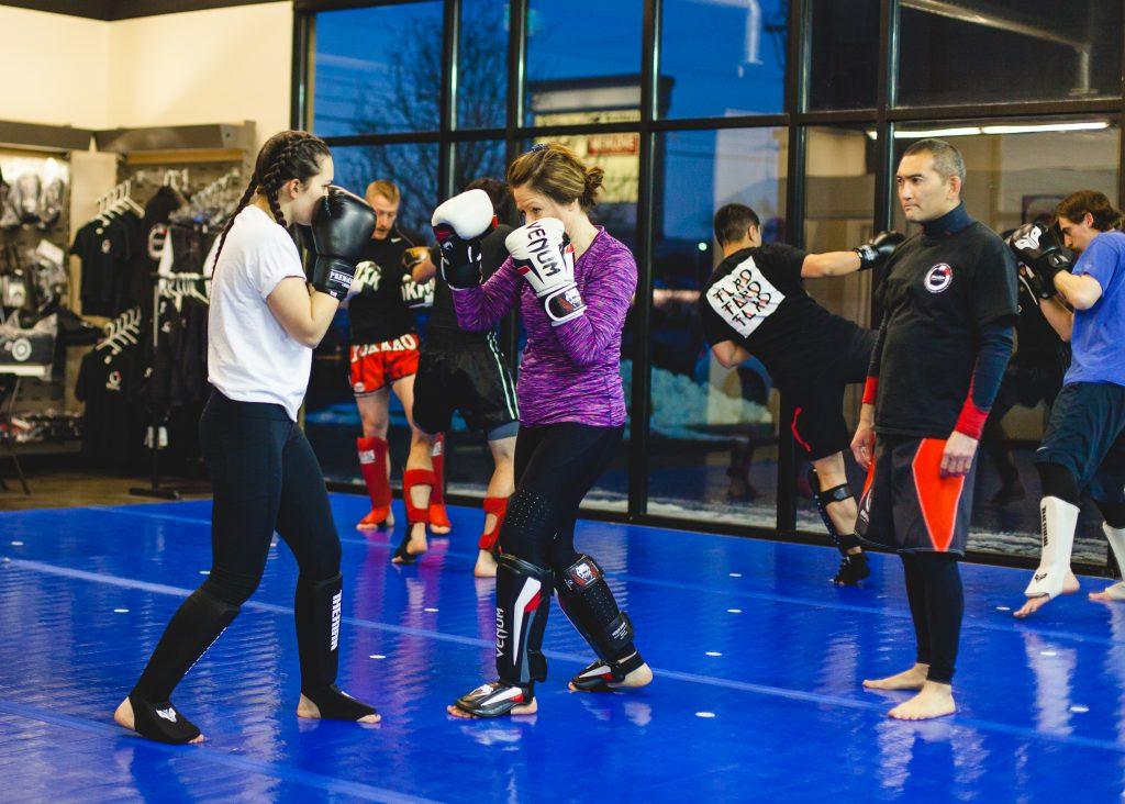 MMA striking techniques